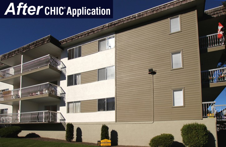 Rock Stucco After CHIC Advanced Coating