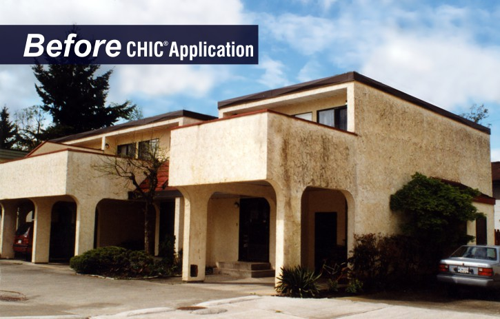 CHIC Advanced Coating protects and beautifies all types of buildings.