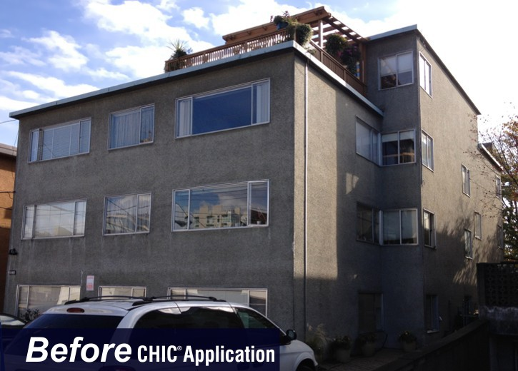 CHIC Dealers can repair any type of stucco.