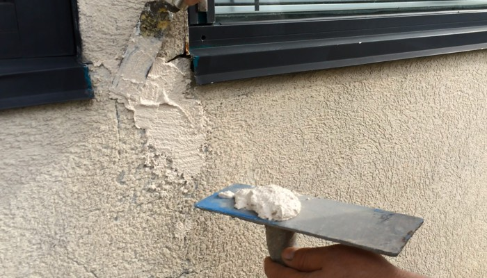 Stucco/Substrate repairs are a key component of the CHIC Advanced Coating System.